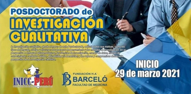 Fundación Barceló lanza el Curso de Posdoctorado en Investigación Cualitativa