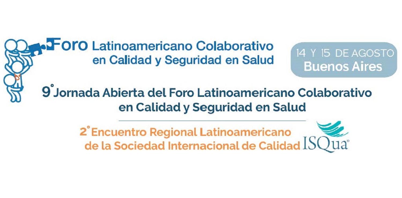 9ª Jornada Abierta del Foro Colaborativo Latinoamericano sobre Calidad y Seguridad en Salud